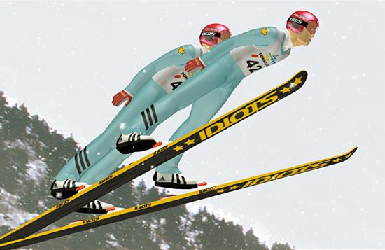 Skijumppair