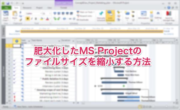 Msproject syukusyou