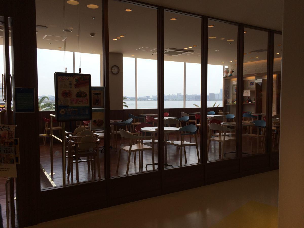 神戸アンパンマンミュージアム内のカフェ