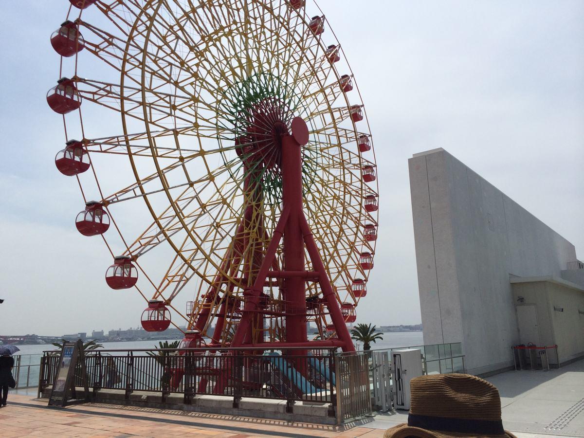 神戸アンパンマンミュージアム横の観覧車