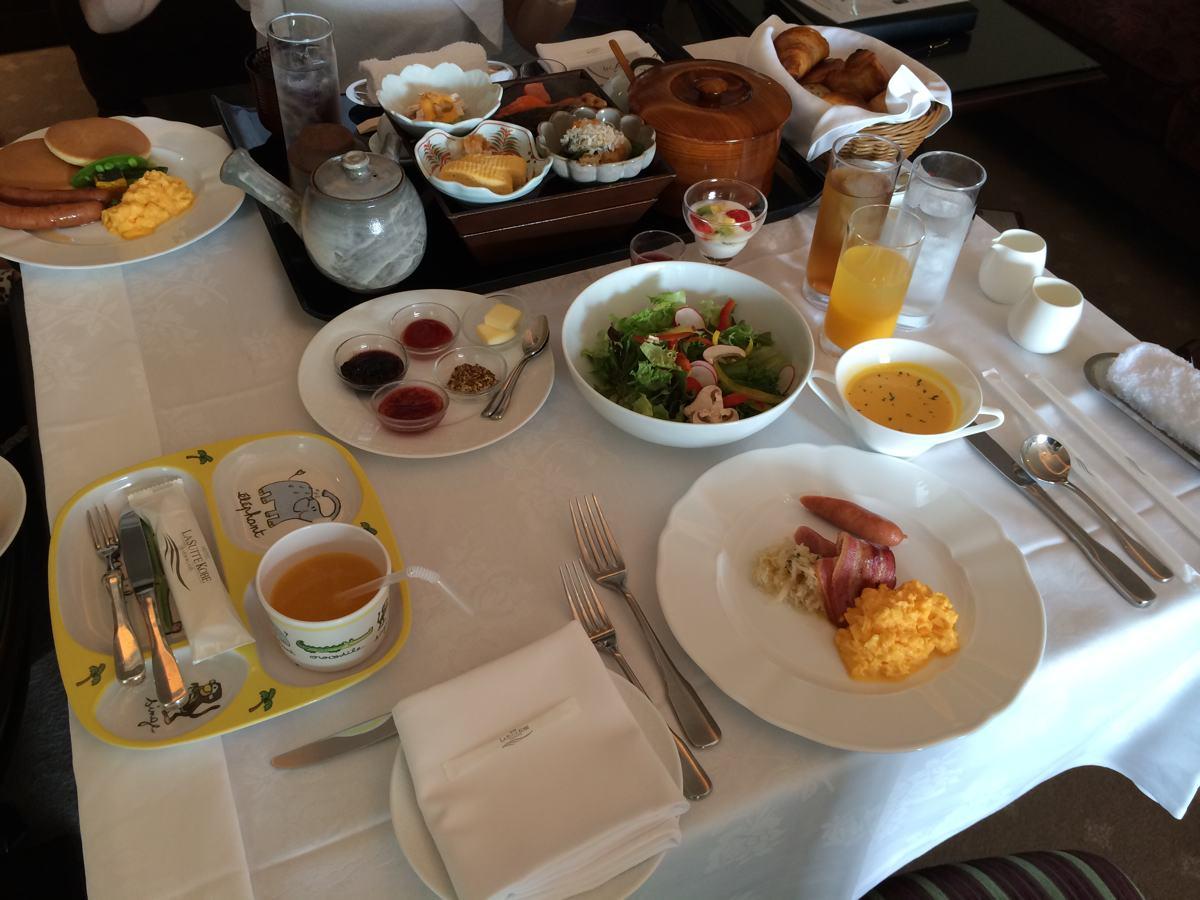 ラ・スイート神戸の朝食