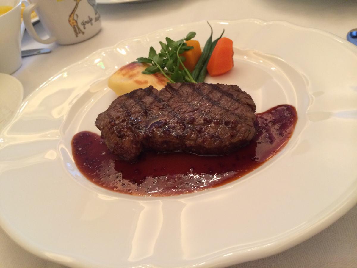 ラ・スイート神戸のディナー