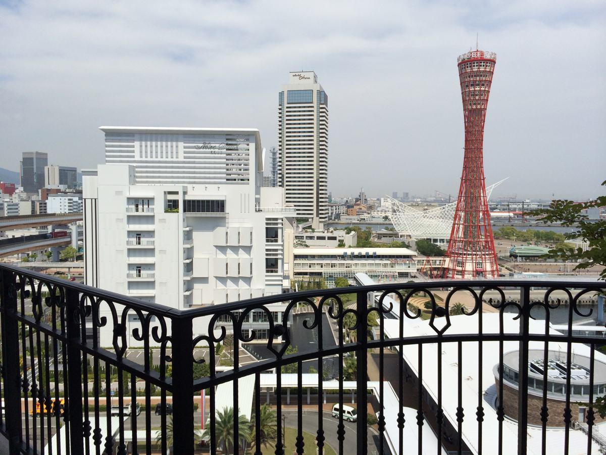 ラ・スイート神戸からの景色