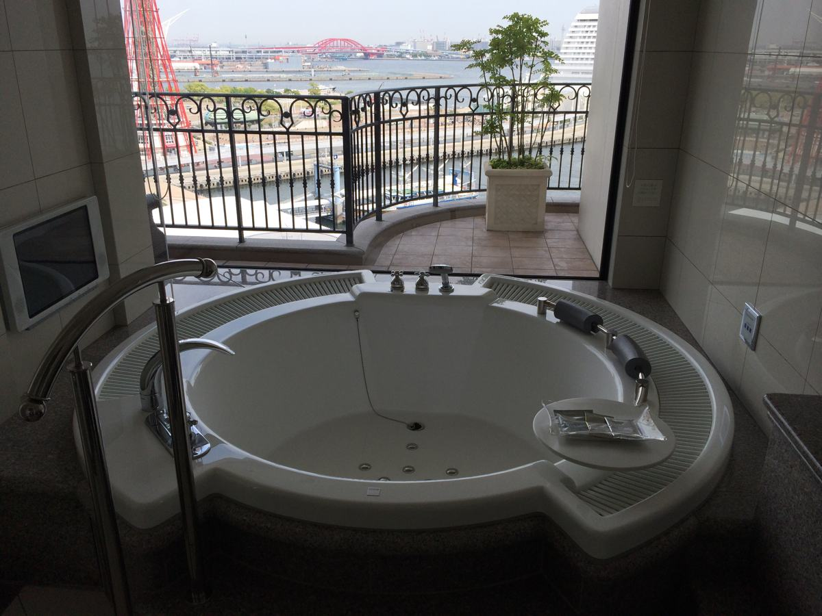 ラ・スイート神戸のお風呂