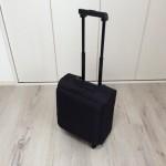 プチ旅行や出張にちょうどいいサイズのキャリーバッグ「無印良品のソフトキャリー」を買いました。