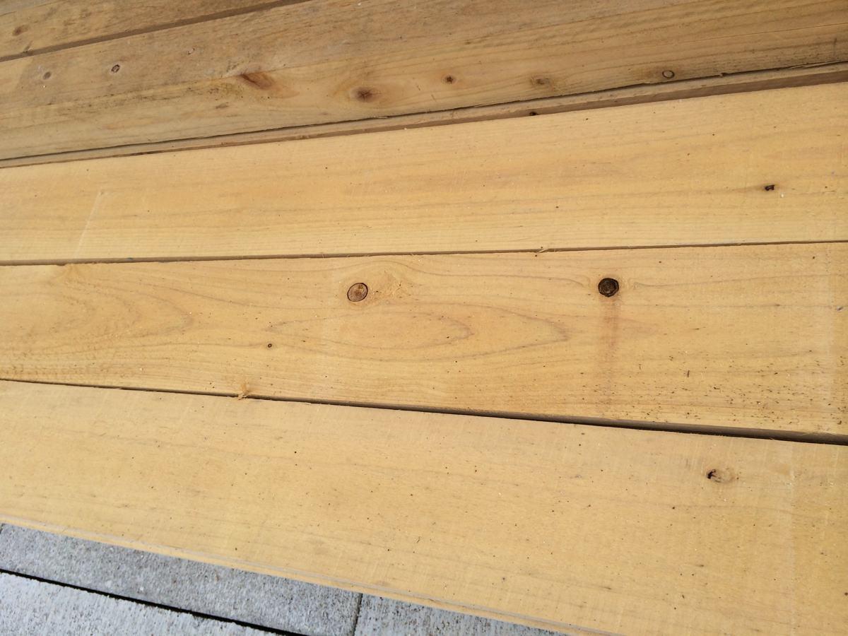 ウッドフェンスの板