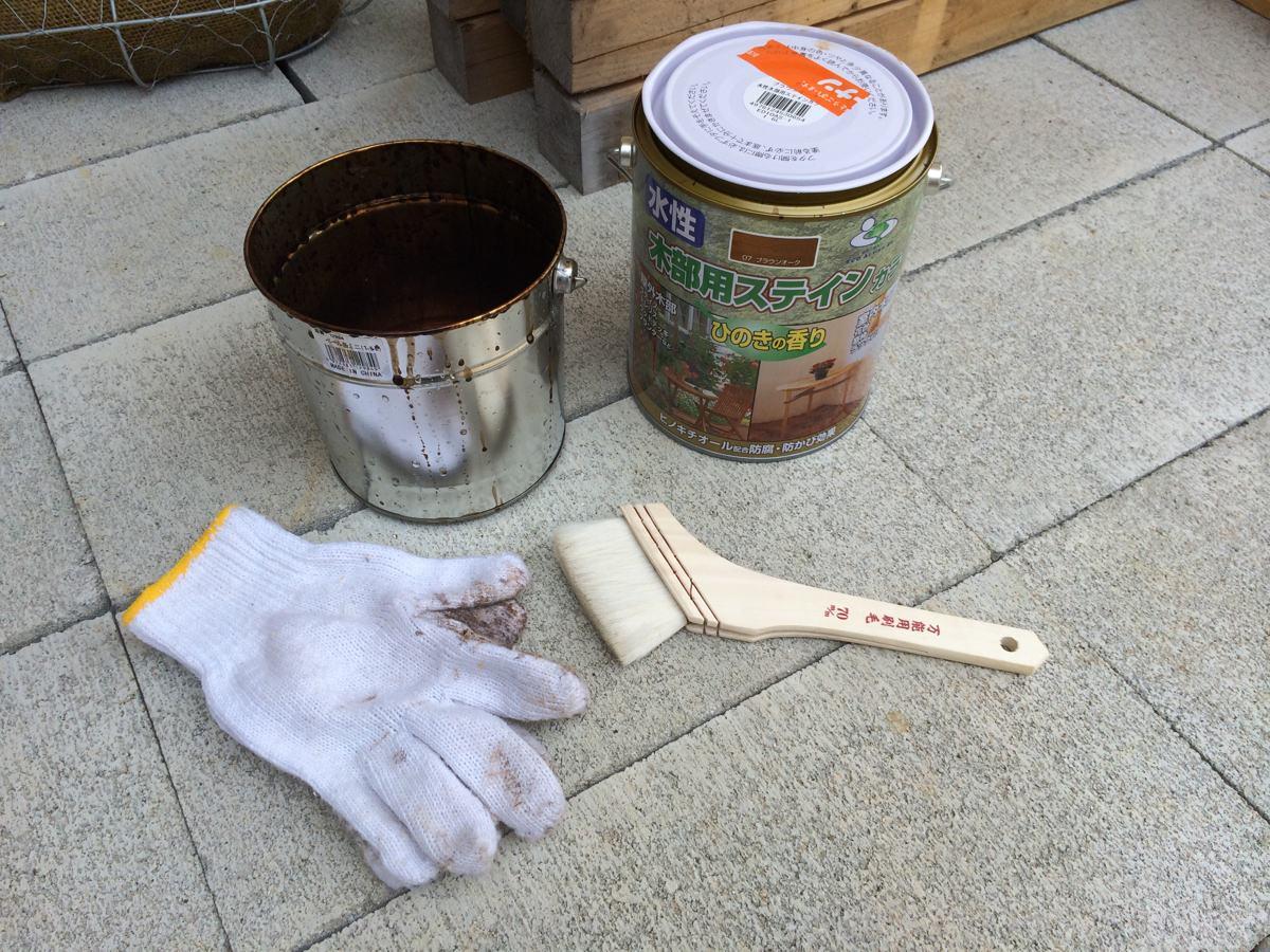 板塗りの道具