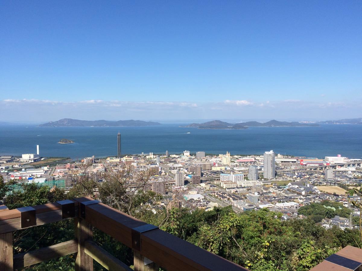 青の山展望台からの眺め