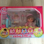 子供の人形遊びの入門にオススメ。2歳前の娘に「メルちゃん入門セット」を買いました。