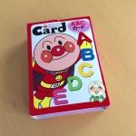 子供の知育にアンパンマン英語カードを買いました。