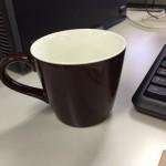 コーヒーやスープも両方いける!オフィス用に買った北欧カラーのシンプルなマグカップが気に入ってます!