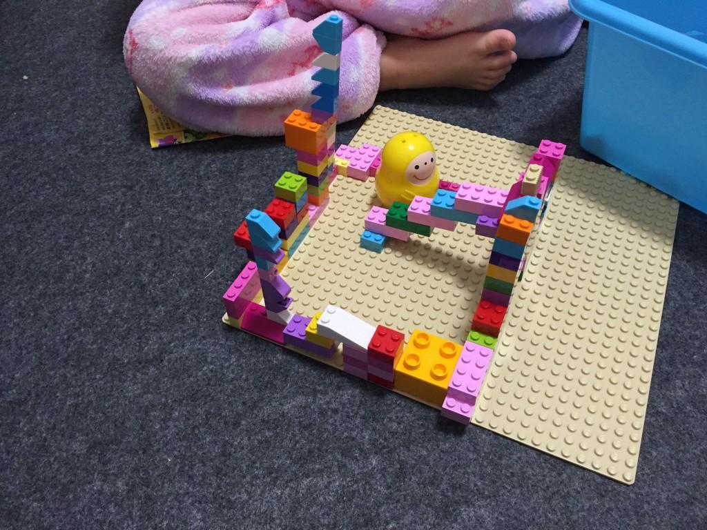 3歳児の子供のLEGO作品