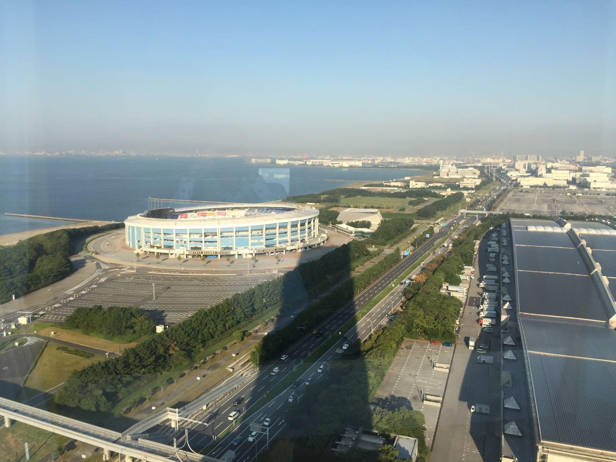 APAホテル東京ベイ幕張の部屋からの風景