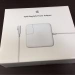 Mac Book Airの電源アダプタの調子が悪い。いろいろ調査したけど結局、電源アダプタを買い換えました。