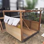 【DIY】ど素人でもできました。子供の遊び小屋(ままごとハウス)を作りました。作り方などの紹介