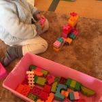 幼児向けのブロックなら「LEGO Duplo」がおすすめ!よく遊びます!
