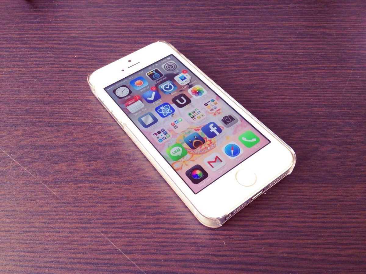 iPhone5sを1週間使ってみての感想