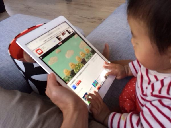 iPad Airで動画