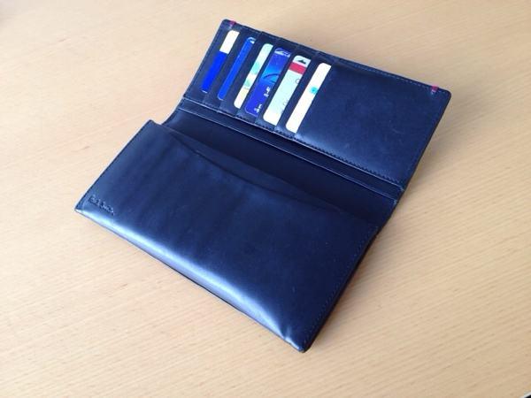 財布の開いたところ