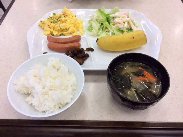 東横インの朝食