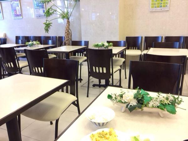 東横インの食堂