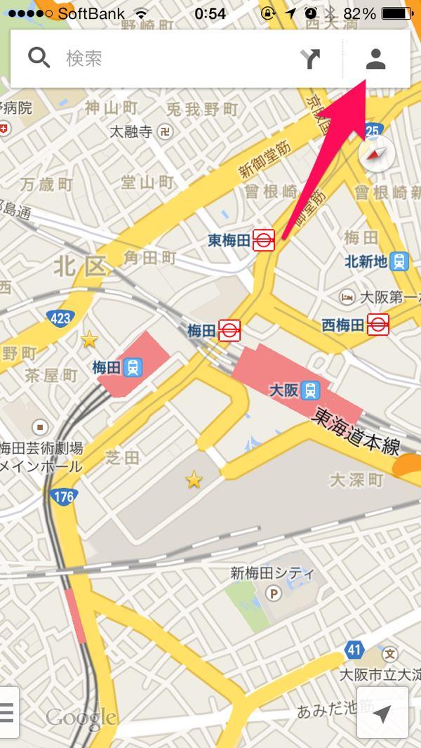GoogleMap地図