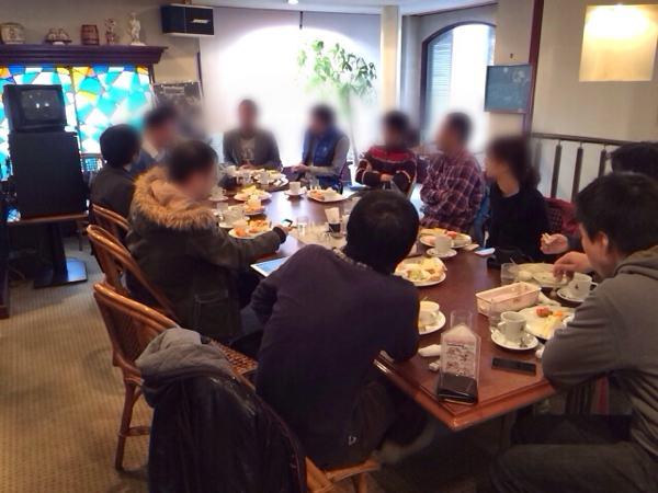 岡山スマホユーザー会の様子