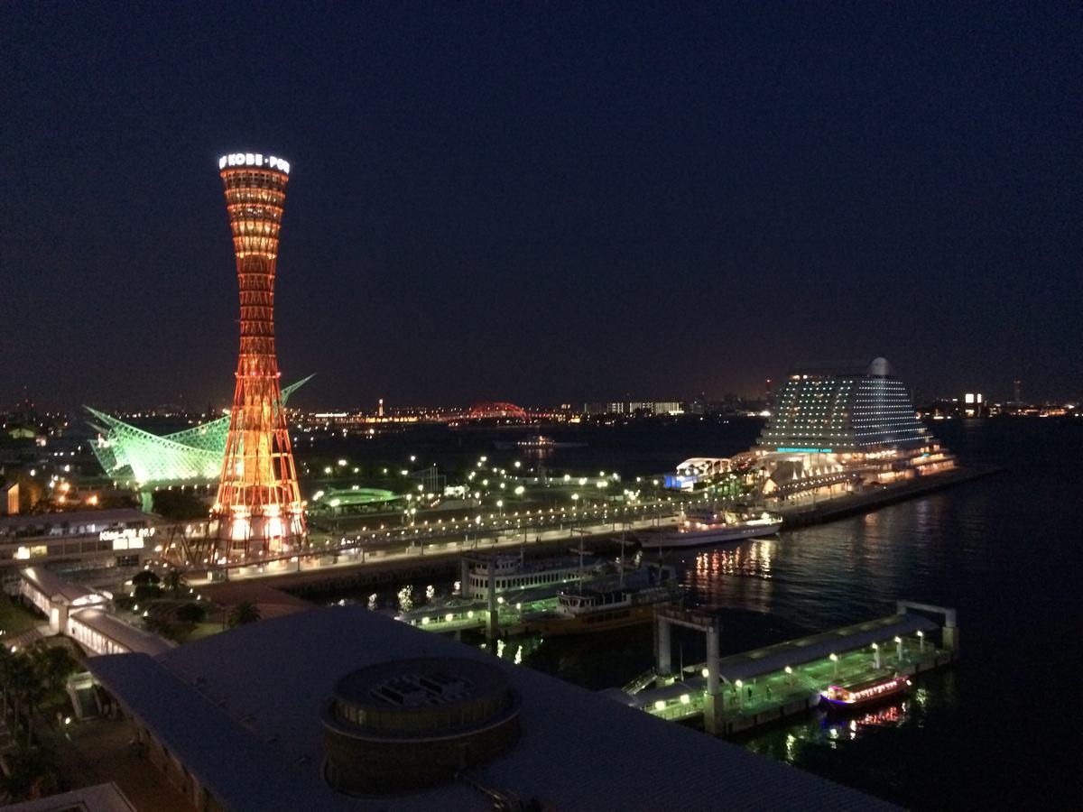 ラ・スイート神戸からの夜景