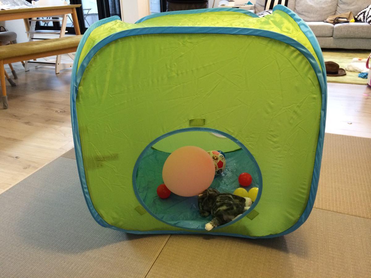 IKEA子供用テント