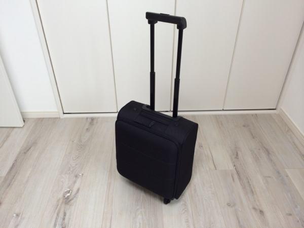 無印良品のキャリーバッグ「ソフトキャリー」