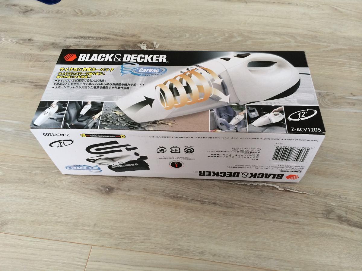 ブラック&デッカーZ-ACV1205