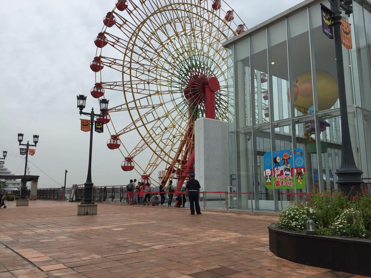 神戸アンパマンミュージアムの駐車場について