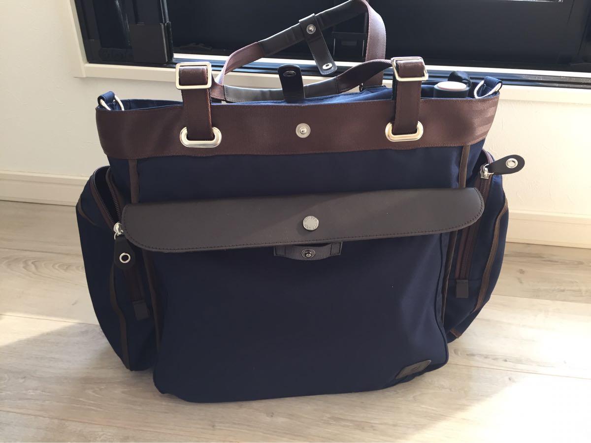 弁当にPC、書類、出張着替えまで全部入るトート型ダディッコビジネスバッグ「Biz+」