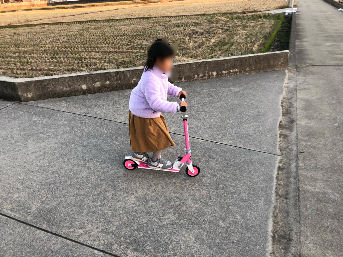 トイザらス・AVIGO折りたたみ式キッズスクーター