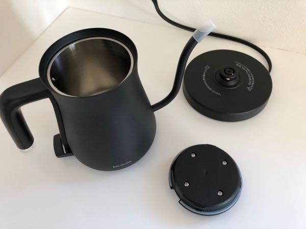 オシャレな電気ケトル探してるなら間違いない!「BALMUDA The Pot」が気に入った!