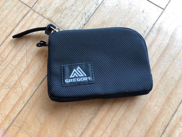 アウトドアで使えるミニサイズコインケース。「GREGORY(グレゴリー)のコインケース」のレビュー