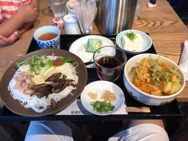 【岡山】きびだんごで有名な和菓子屋 廣榮堂(こうえいどう)のそうめんランチがよかったよ!