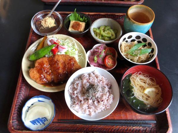 岡山県西大寺のカフェ茶蔵(ちゃくら)のランチ