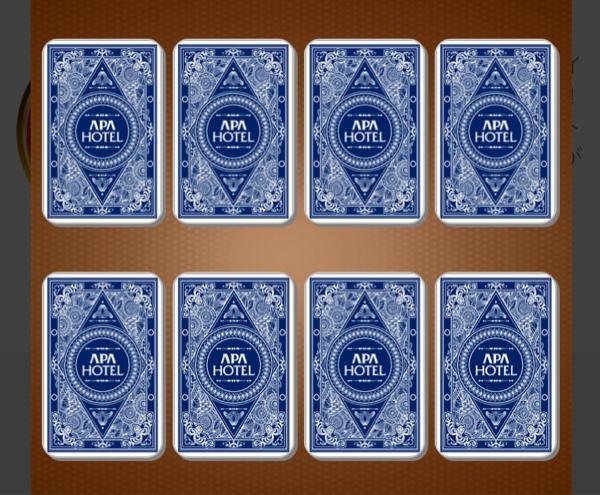 APAホテルアプリのアパ集中ゲームが地味におもしろい。