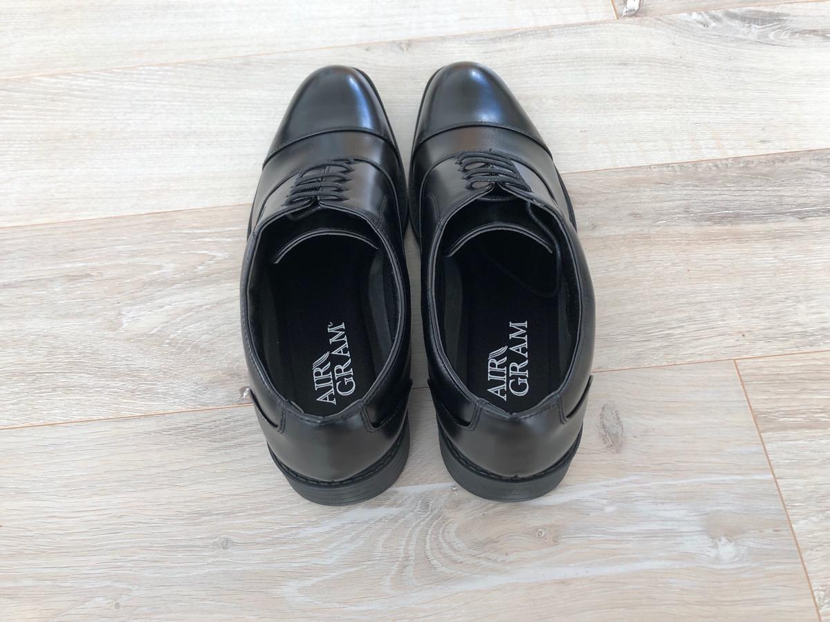 超軽量ビジネスシューズ「AIRGRAM」の靴底