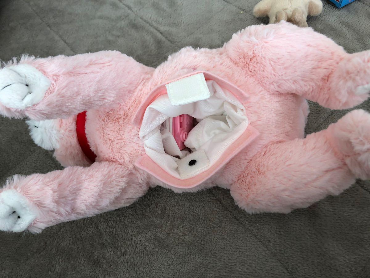 赤ちゃんが生まれるぬいぐるみ「うさぎ産んじゃった!」を娘の誕生日プレゼントに買いました。