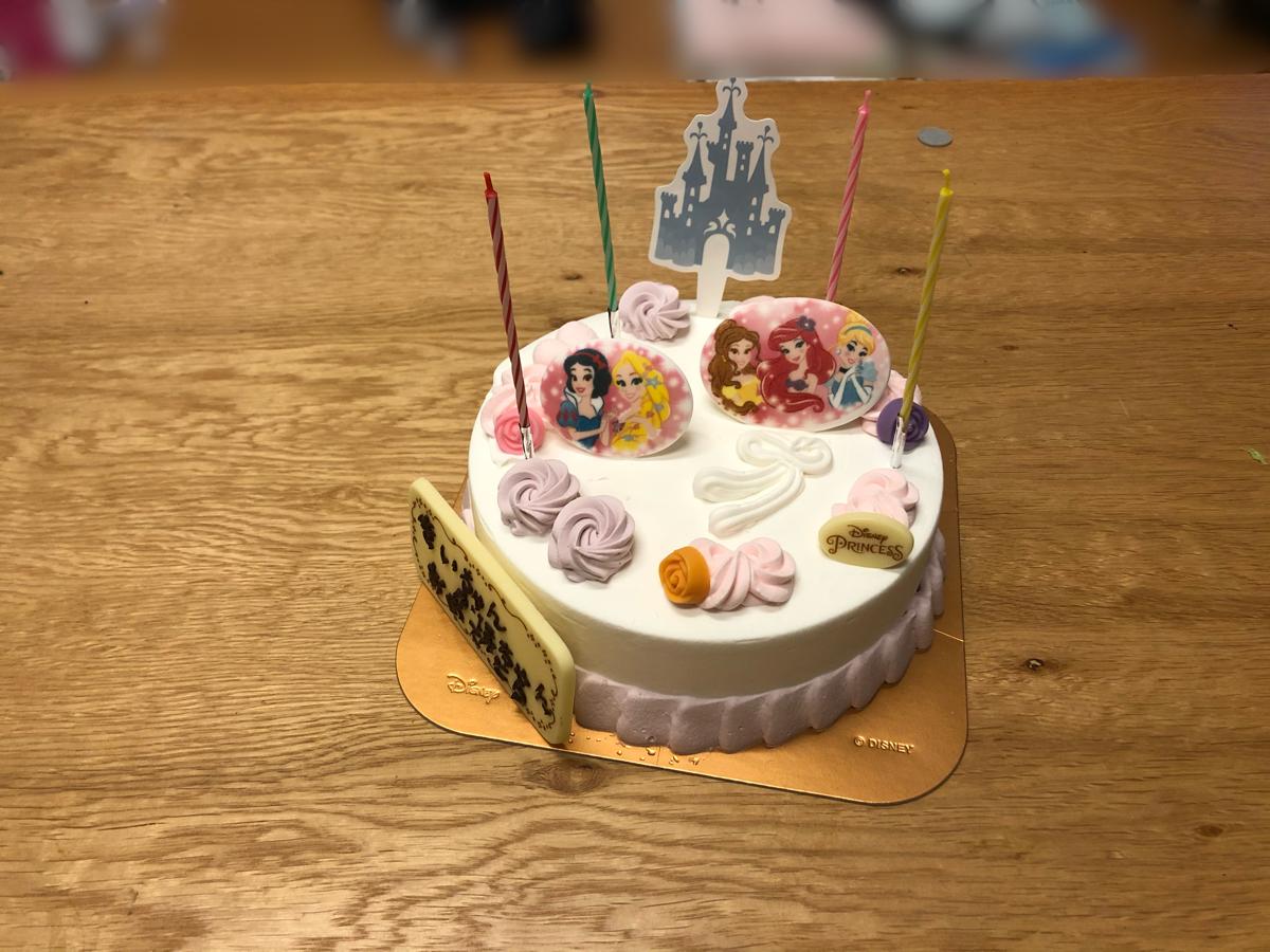 娘の誕生日ケーキにサーティーワンアイスクリームのバースデーケーキを注文。感想など。