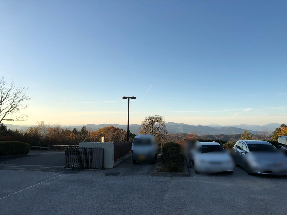 【岡山のキャンプ場】吉井竜天オートキャンプ場の眺め