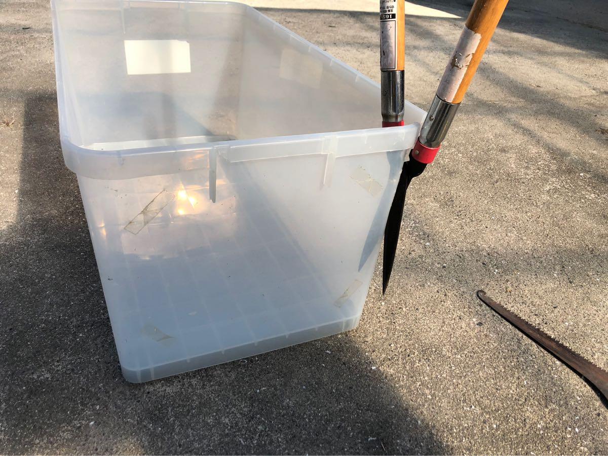 プラスチックケースなどの大型プラスチック製品をコンパクトにゴミに出す方法